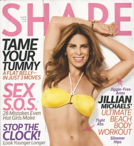 Jillian Michaels photographed by Don Flood