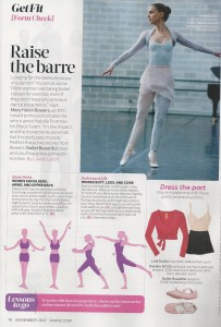 Raise the Barre Oxygen magazine 001