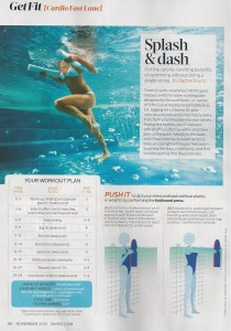 Water workouts Shape magazine 001
