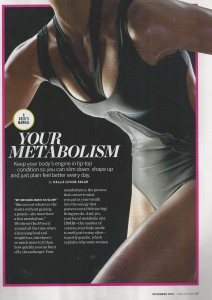 Metabolism Health magazine 001
