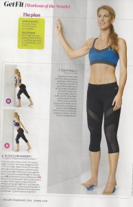 Stress relief exercises in Shape magazine 001