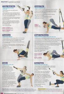 TRX workout in Fitness magazine 001