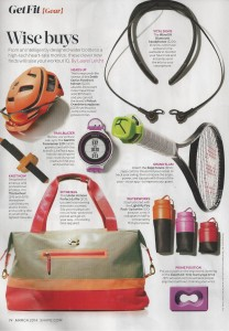 Fit gear in Shape magazine 001