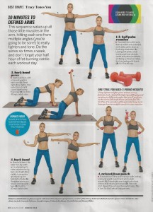 Tracy Anderson in Health magazine 001