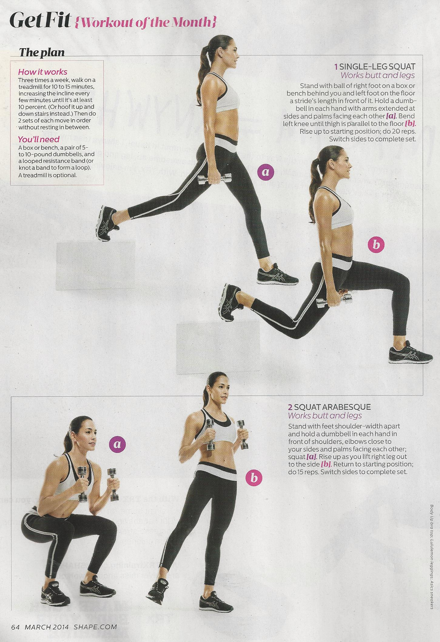 Workout of the Month Shape magazine 001 - Brooklyn Fit