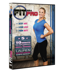 Fit As a Pro DVD Giveaway (Lauren Sesselmann)