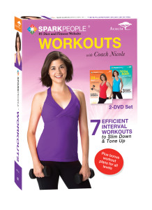 Enter to win this 2 DVD set from SparkPeople!
