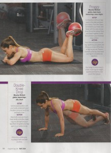 Glute workout in Oxygen 001