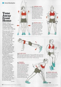 Miranda Lambert workout 001