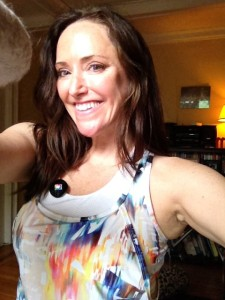 You can see me wearing this EleVen by Venus top at Fitbloggin!