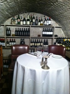 Bank Vault Wine Cellar