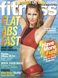 Fitness Magazine/Cover model Kathy Leutner photographed by Jeff Olson