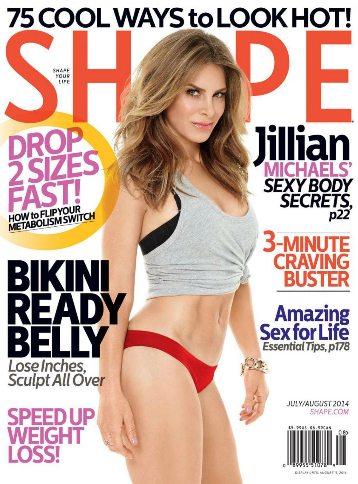 Jillian michaels has hairy arms