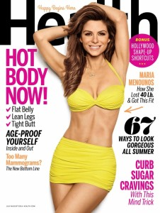 Maria Menounos photographed by James White