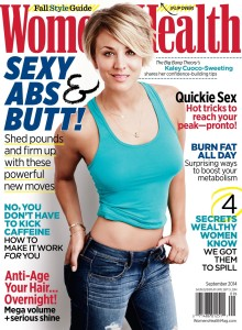 Kaley Cuoco-Sweeting photographed by Jeff Lipsky