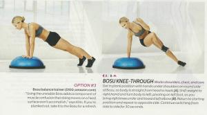 Bosu Knee Through 001