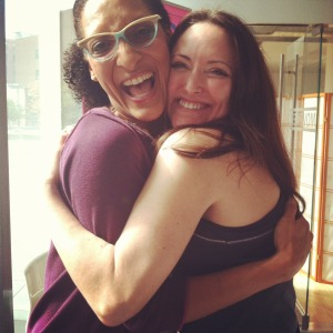 "I got a hug from Carla Hall of ""Top Chef"" and ""The Chew"""