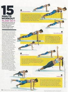 (I really did this workout and liked it!)