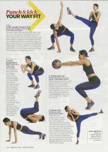 Kick boxing workout Shape 001