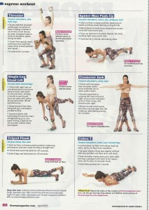 Express workout Fitness magazine 001
