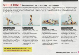 Stretches for Runners Fitness mag 001