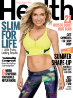 What Did We Learn This Month? Health magazine with Tracy Anderson on the Cover @goodhealth