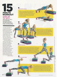Step workout Womens Health Mag 001