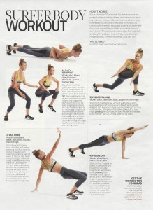Shape mag Surfer Workout 001