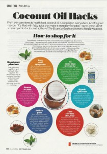 Coconut Oil Hacks health mag 001