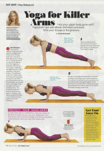 Yoga arms health magazine 001